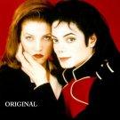 Michael Jackson & Lisa Marie Cross Stitch Pattern