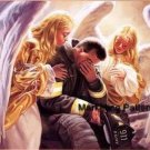 Firefighter's Angels Cry Cross Stitch Pattern American ETP