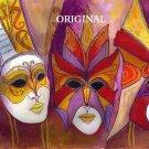 Carnival Masks Cross Stitch Pattern ETP