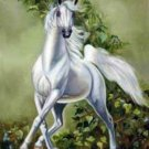Dancing Horse Cross Stitch Pattern ETP