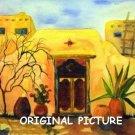 Sunny Adobe Cross Stitch Pat Mexico Southwest ETP