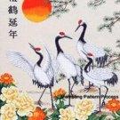 Crane Paradise Cross Stitch Pattern Oriental ETP