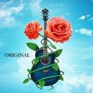 Air Guitar 2 Cross Stitch Pattern Music ETP