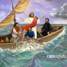 Jesus Fisher of Men 2 Cross Stitch Pattern Bible ETP