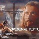 Jesus Collage Cross Stitch Pattern Messianic Christian ETP
