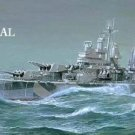 WWII Battleship Cross Stitch Pattern Navy USS Baltimore ETP