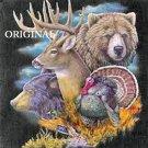 Animal Collage ~ Deer ~ Bear Cross Stitch Pattern ETP