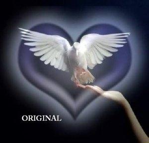 Peace at Hand Cross Stitch Pattern Dove Christian ETP
