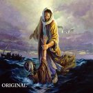JESUS SAVES Cross Stitch Pattern Christian Bible ETP