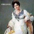 Portrait of a Lady Cross Stitch P Henri François Mulard ETP