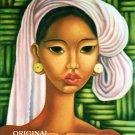 Balinese Woman Cross Stitch Pattern Oriental ETP