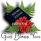 God Bless You Bible Cross Stitch Pattern Christian ETP
