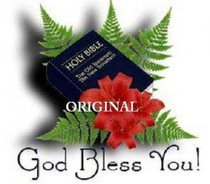 God Bless You Bible Cross Stitch Pattern Christian ETP