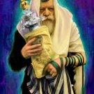 Orthodox Rebbi Cross Stitch Pattern Jewish Judaica ETP