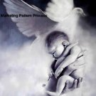 Baby In God's Hands Cross Stitch Pattern Christian ETP