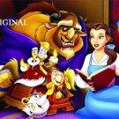 Beauty and the Beast Cross Stitch Pattern Disney ETP