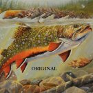 Brook Trout 2 Cross Stitch Pattern Sport Fish ETP