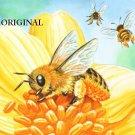Honey Bees Cross Stitch Pattern ETP