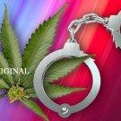 Illegal Marijuana Cross Stitch Pattern Pot ETP