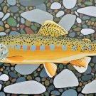 Golden Trout Cross Stitch Pattern Sport Fish ETP