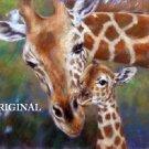 Giraffe & Baby Cross Stitch Pattern ETP