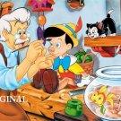 Pinocchio Cross Stitch Pattern Disney ETP