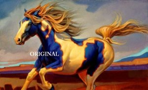 Painted Pony Cross Stitch Pattern Western Horse ~ETP~