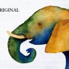 Artful Elephant Cross Stitch Pattern Africa ~ETP~
