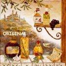 Tuscan Kitchen Cross Stitch Pattern Italian ~ETP~
