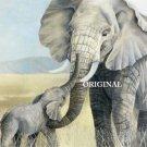 Elephants 2 Cross Stitch Pattern African Safari ~ETP~