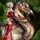 Battle Flamingo Cross Stitch Pattern Fantasy ~ETP~