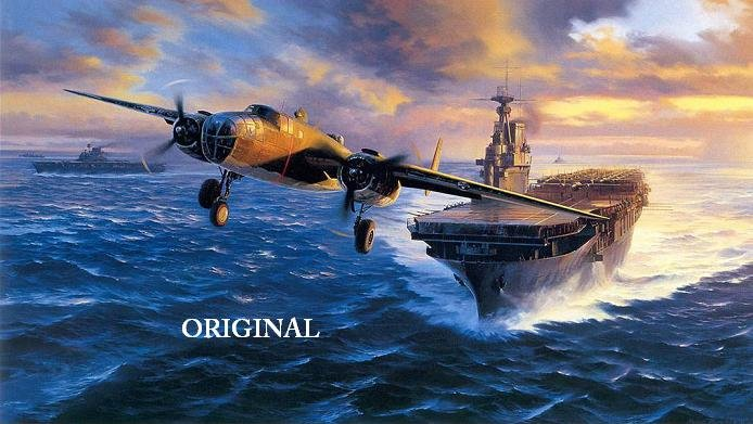 Bound for Tokyo Cross Stitch Pattern WWII