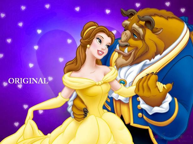 Beauty and the Beast 3 Cross Stitch Pattern Belle Disney ~ETP~