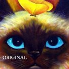Blue Eyes & Butterflys Cross Stitch Pattern Cats ~ETP~
