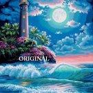 Lighthouse Moon II Cross Stitch Pattern ~ETP~