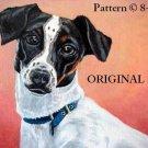 Jack Russell Terrier Cross Stitch Pattern Dogs~ETP~
