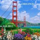 Golden Gate Bridge Cross Stitch Pattern ~ETP~