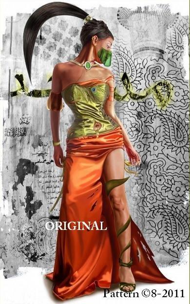 Arabian Beauty Cross Stitch Pattern ~ETP~