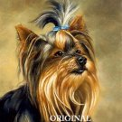 Yorkshire Terrier Cross Stitch Pattern Dogs ~ETP~