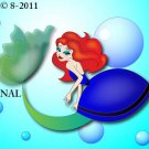 Little Mermaid Cross Stitch Pattern Disney ~ETP~