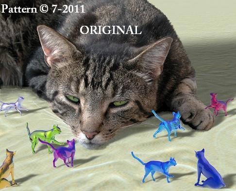 Kitty Cat Dreams Cross Stitch Pattern ~ETP~