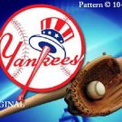 New York Yankees #3 Cross Stitch Pattern Baseball ~ETP~