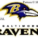 Baltimore Ravens #3 Cross Stitch Pattern NFL Football ~ETP~