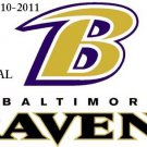 Baltimore Ravens #5 Cross Stitch Pattern NFL Football ~ETP~