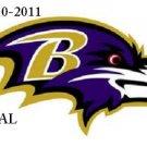 Baltimore Ravens Logo #2 Cross Stitch Pattern NFL Football ~ETP~