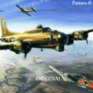 B17-Flying-Fortress Cross Stitch Pattern Miltary Aircraft ~ETP~