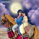 Aladdin & Jasmine ~ Prince of Persia Cross Stitch Pattern Disney ~ETP~