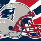 New England Patriots Helmet Cross Stitch Pattern NFL Football ~ETP~