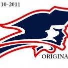 New England Patriots Logo Cross Stitch Pattern NFL Football ~ETP~