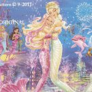 Barbie Under the Sea Cross Stitch Pattern ~ETP~